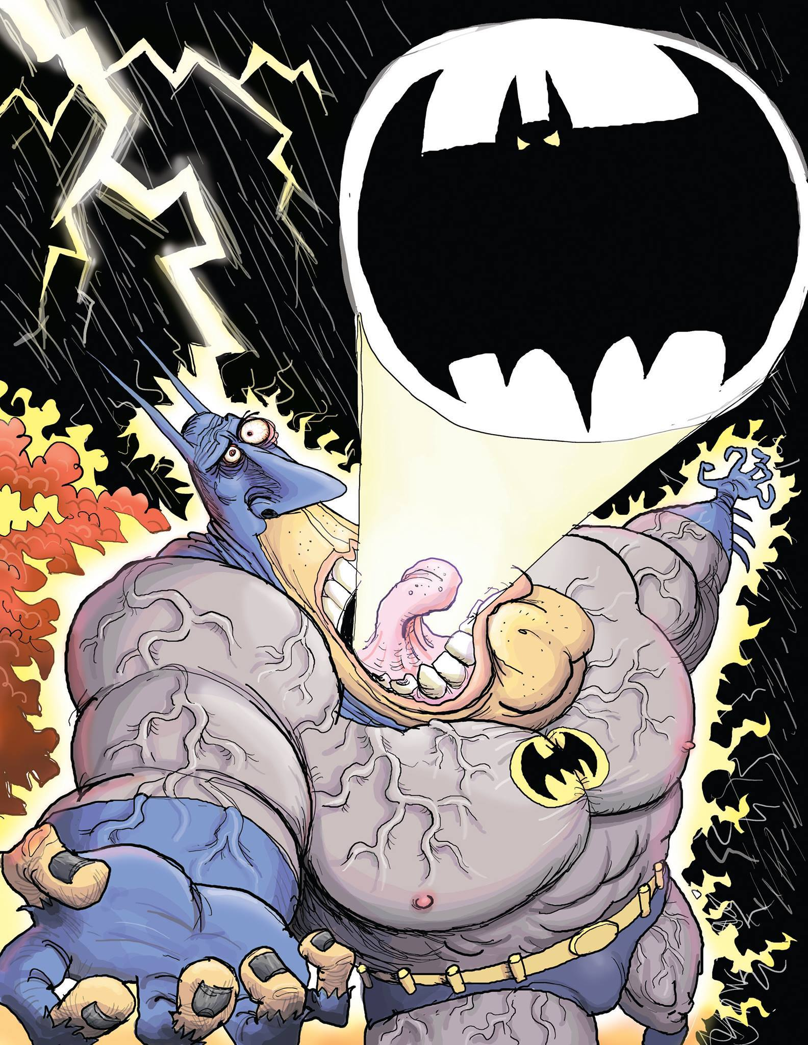 Glenn McCoy Takes A Stab At The Bat Signal
