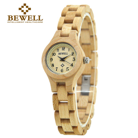 BEWELL Wooden Watch for Women