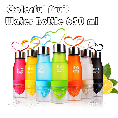 650ml Infusion Water Bottle