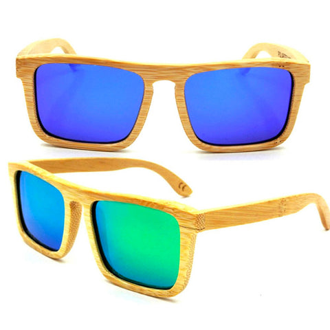 Wooden Bamboo Sunglasses