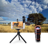 Powerfull Mobile Phone Lens for iPhones, smartphones with APL-HS12X Tripod