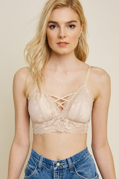 Lace Adjustable Bralette