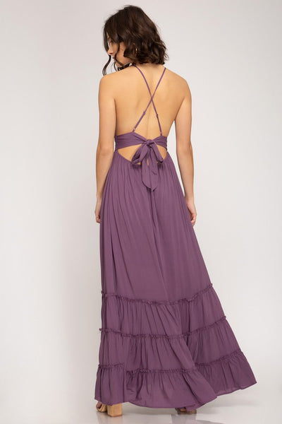 All I Really Want Is Love Maxi Dress