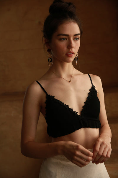 Don't Ruffle My Feathers Bralette
