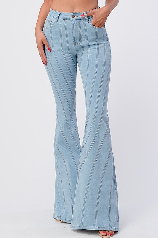 Southern Bell Flare Jeans