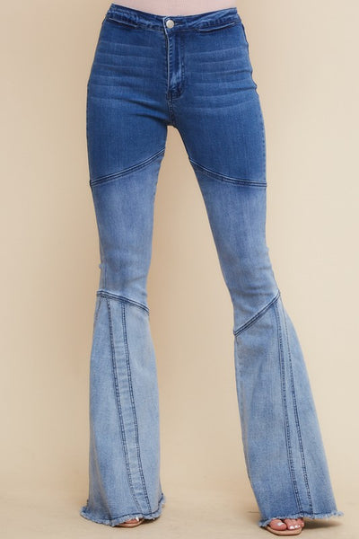Ombre Dreams Bell Bottom Jeans