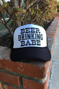 Beer Drinking Babe