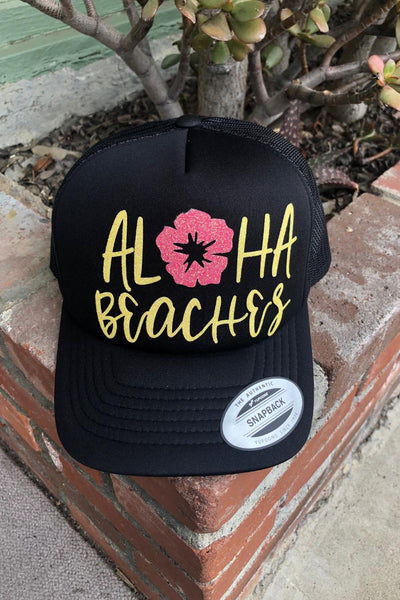 Aloha Beaches Trucker Cap