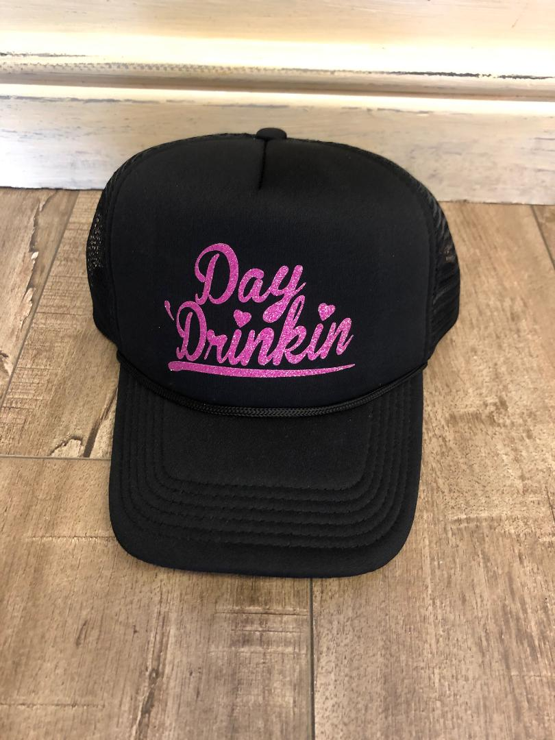 Day Drinking Distressed Hat
