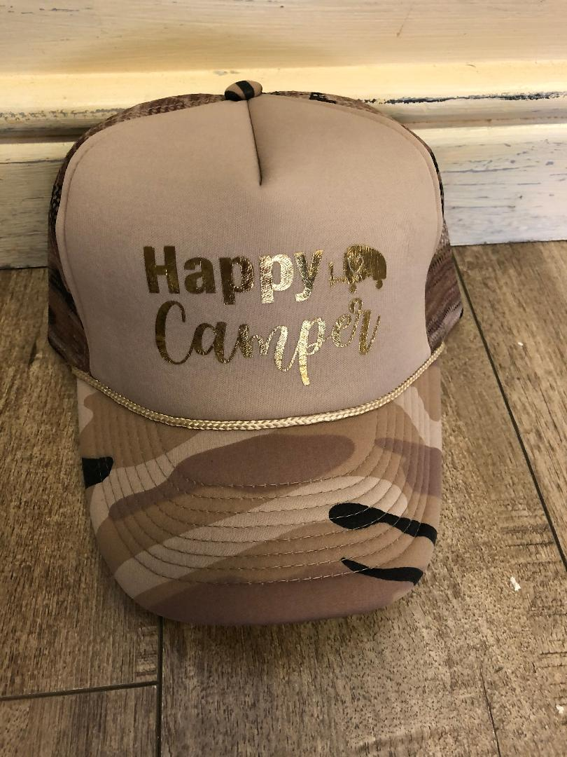 Happy Camper Hat