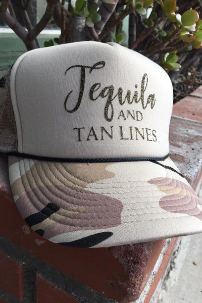 Tequila & Tanlines Hat