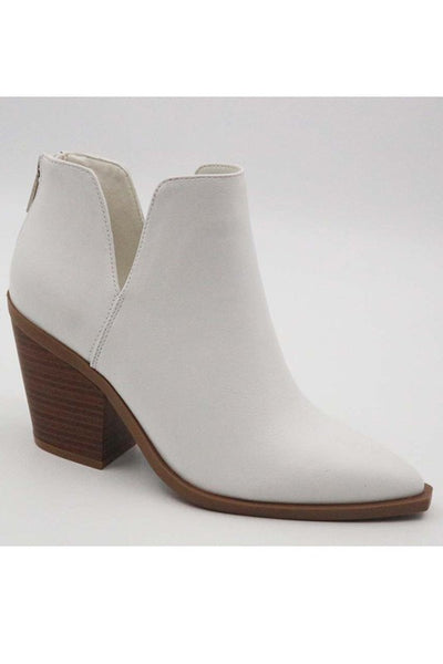 Classic White Booties