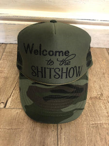 Welcome To The Shit Show Hat