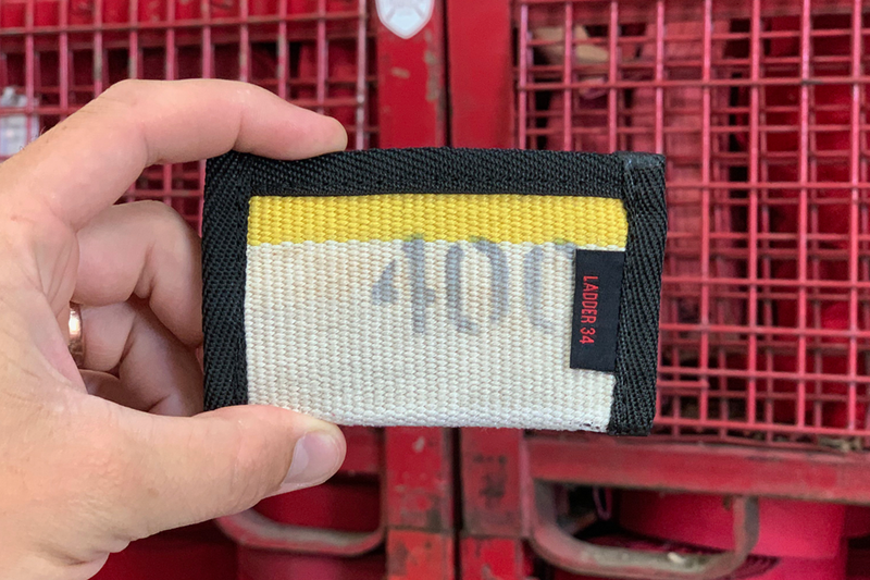 Wallet St. Louis Yellow Stripe