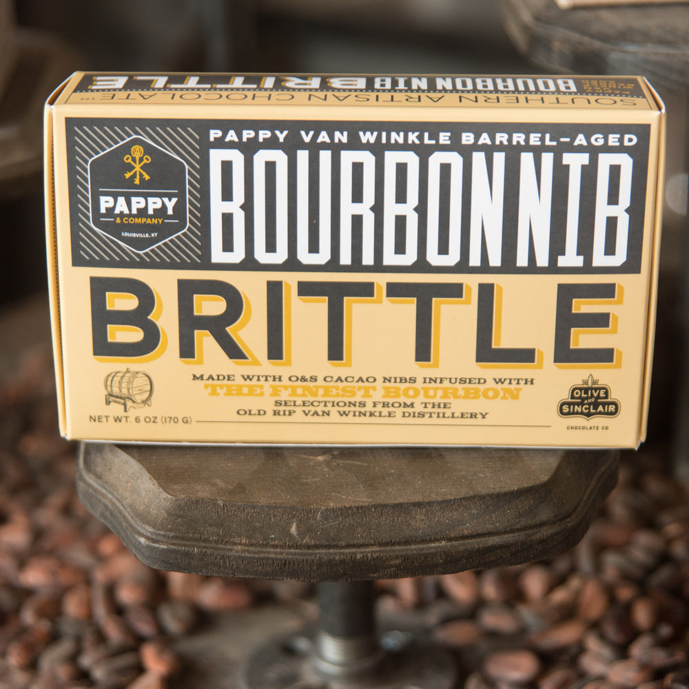 The Story Behind Our Bourbon Nib Brittle Candy