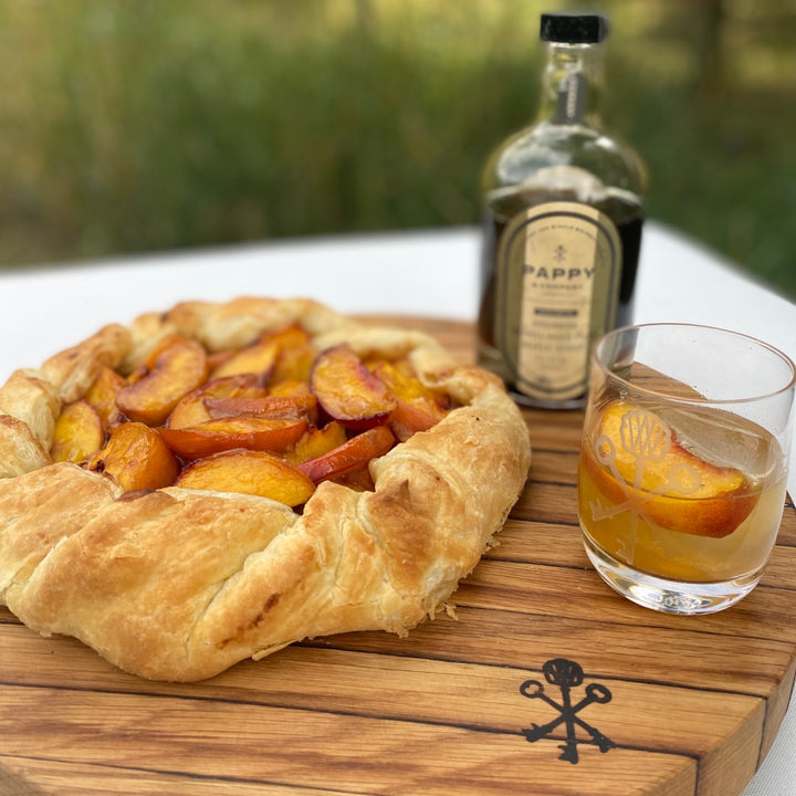 You Had Me at Peaches: My Favorite Peach Dessert & Cocktail Recipe