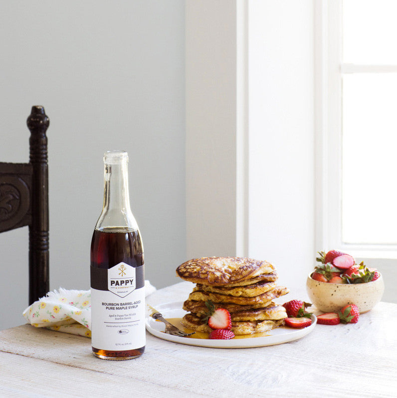 Recipe: Pappycakes With Pappy & Company Maple Syrup