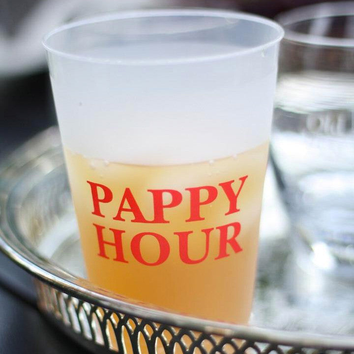 "The Origin of Our ""Pappy Hour"" Shatterproof Cups"
