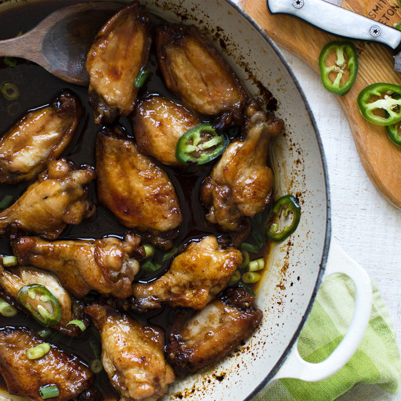 Recipe: Hot Sticky Toffee Chicken Wings