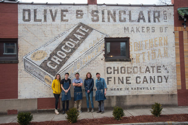 Visiting Olive & Sinclair Chocolate Factory