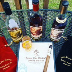 Pappy Van Winkle Bourbon and Cigar Gifts