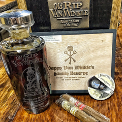 Old Rip Van Winkle Bourbon and Cigars