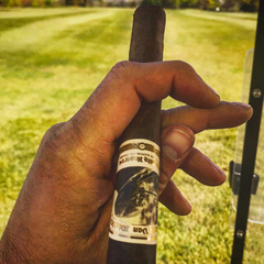 Smoking Pappy Cigars & Golfing