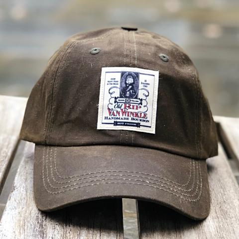 Waxed Cotton Old Rip Van Winkle Ball Cap Hat