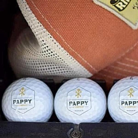Pappy & Company Titleist Golf Balls for Golfers and Bourbon Fans