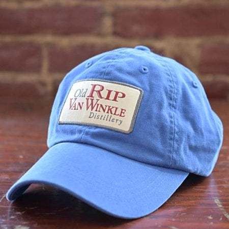 Old Rip Van Winkle Distillery Light Blue Ball Cap Hat