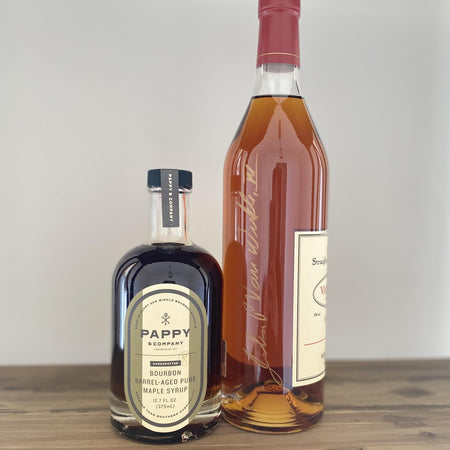 Bourbon Sweepstakes Edition: Pappy Van Winkle Barrel-Aged Pure Maple Syrup