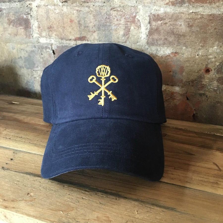 Navy Pappy & Company Ball Cap
