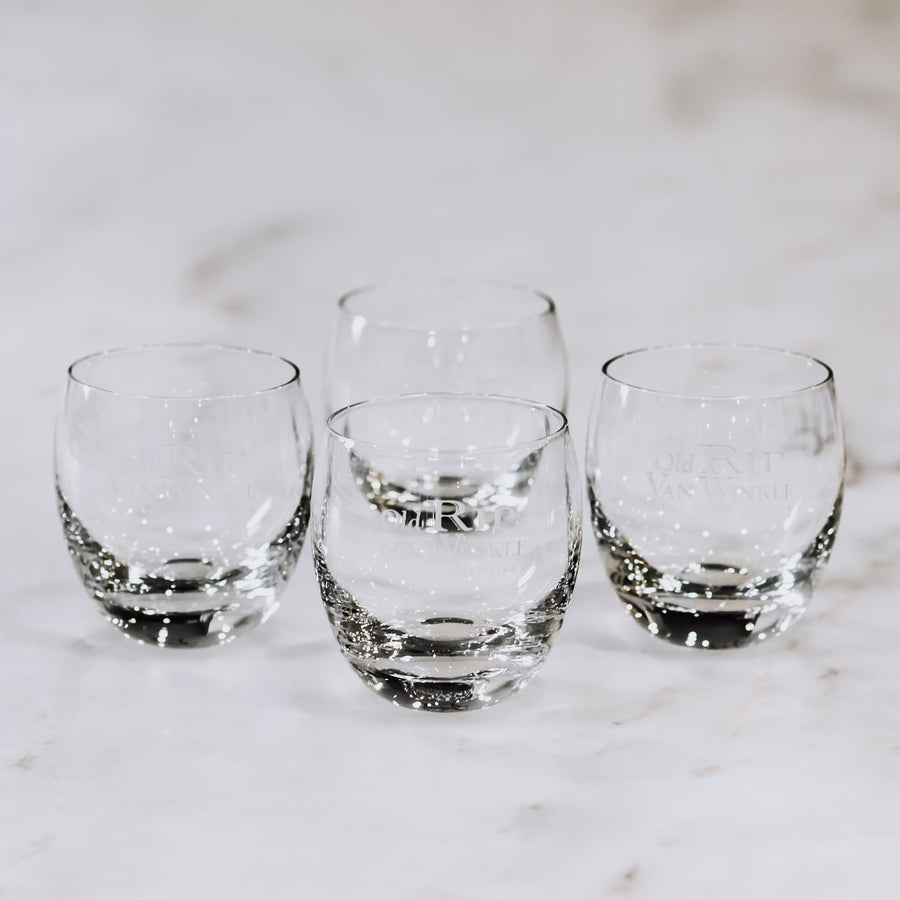 Old Rip Van Winkle Rocks Glasses (Set of 4)