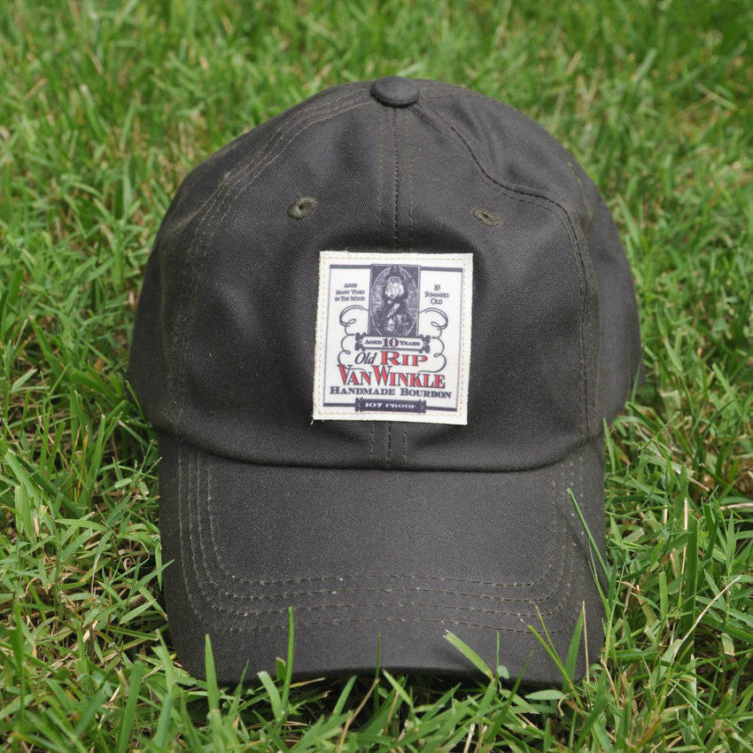 15cd5032cf3 Waxed Cotton Old Rip Van Winkle Ball Cap Hat - Shop