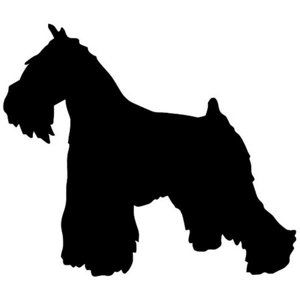 Schnauzer Car Sticker