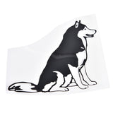 Siberian Husky Car Sticker