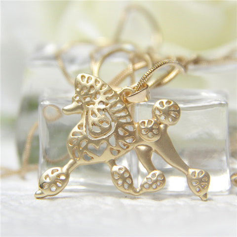Running Poodle Charm