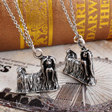 3D Shih Tzu Necklace