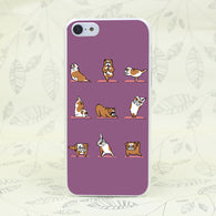 English Bulldog Yoga Case iPhone