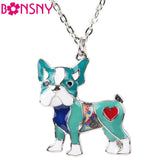 French Bulldog Fashion Necklace