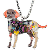Labrador Retriever Fashion Necklace