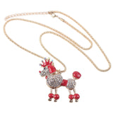 Belt Poodle Necklace