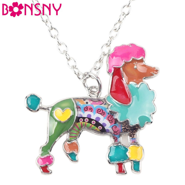 Poodle Fashion Necklace