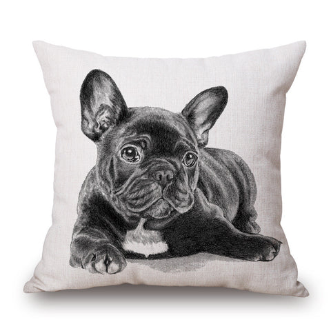 French Bulldog Decorative Cushion Cover