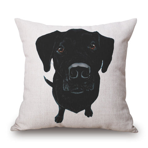Labrador Retriever Throw Pillow Case