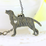 Labrador Retriever Charm Necklace