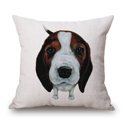Beagle Throw Pillow Case