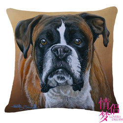 Boxer Decorative Pillow Case
