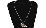 Cavalier King Charles Spaniel Dress Necklace