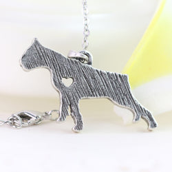 Boxer Metal Necklace with Chain